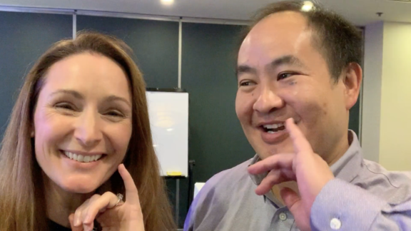 Dennis Yu and Liz Raad discuss Topic Wheel for Facebook Marketing