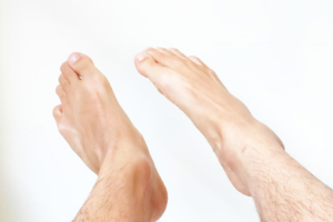Writing the Alphabet with Your Toes to Improve Circulation